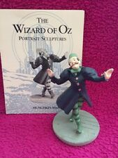 WIZARD OF OZ -Franklin MINT Figure - Munchkin Woman w/ Card