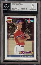Rare 1991 O-Pee-Chee #333 Chipper Jones Rookie Card RC Braves HOF BGS 9 = PSA 9