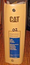Caterpillar Cat 14h Motor Road Grader Service Repair Shop Amp Op Manual Senr8560
