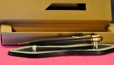 L&C HARDTMUTH  l.18 mm Vintage Brown&GT Push button  Mechanical  Pencil c.1938's