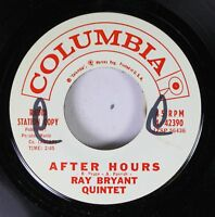 Pop Promo 45 Ray Bryant Quintet - After Hours / Tonk On Columbia