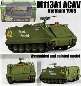 M113 armored personnel carrier vietnam 1969 tank 1/72 finished Easy model
