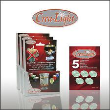 Crea-Light / Crealight: Schwimmkerzen, 3er Set + 5 Schwimmer extra, Dekolichter