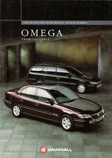 Vauxhall Omega 1994-95 UK Market Brochure Elite CDX CD GLS Select Edition S