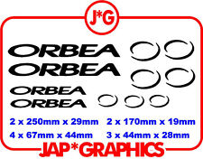 Orbea Mountain Bike Bmx Downhill Mtb Sticker Decal Envío Gratis