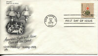 1978 AMERICA'S LIGHT WILL SHINE OVER ALL THE LAND ART CRAFT UNADDRESSED FDC