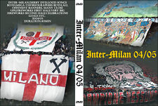 DVD INTER/ MILAN  2004/2005-----CURVA SUD MILANO,AC MILAN 1899,CURVA NORD INTER