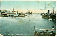 POSTCARD EGYPT Port Said  The Port