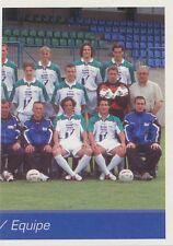N°387 EQUIPE TEAM 2/2 BELGIQUE EXCELSIOR VIRTON STICKER PANINI FOOTBALL 2003