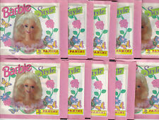 10 Packs of BARBIE STYLE1995 Panini Stickers Great Party bag Filler & Collecting