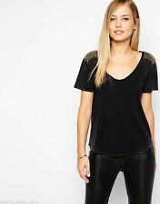 Karen Millen Crew Neck Patternless Tops & Shirts for Women