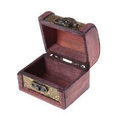 Vintage Wood Wedding Jewelry Box Ring Necklace Bracelet Holder Gift Box Case