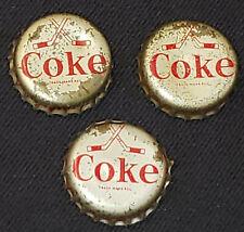1966-67 COCA-COLA /COKE - HOCKEY CAP (3) - KEON, LAPERRIERE, RICHARD - ORIGINAL