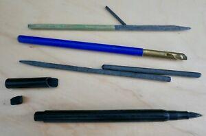 Antique Pencil Case Ruler- Rall Shoe Company, Cedar Rapids, Iowa, Eagle Pencil