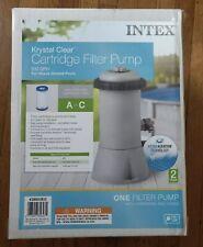 Intex Krystal Clear 530 GPH Easy Set Pool Replacement Cartridge Filter Pump