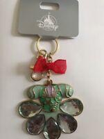 Official Disney Store Japan Princess Keyring Ariel Green Dress Little Mermaid