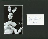 Gloria Steinem Feminist Journalist Playboy Bunny Signed Autograph Photo Display