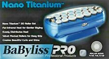 BAD BOX NEW * BABYLISS PRO NANO TITANIUM 20 PIECE HOT ROLLER SET HAIRSETTER CURL