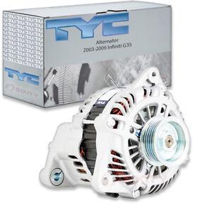 TYC Alternator for 2003-2006 Infiniti G35 3.5L V6 Electrical Charging dw