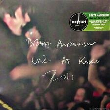 SUEDE Brett Anderson LP Live At Koko 2011 Record Store Day / RSD GREEN Vinyl