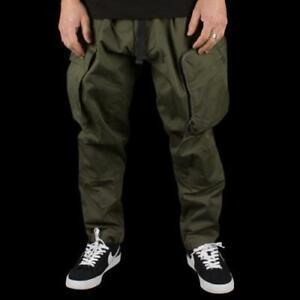 Nike ACG Woven Cargo Pants Military Khaki/OliveGreen CD7646-325 Mens Size XL