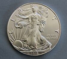 2018 Silver American Eagle Dollar 1 oz. .999 Fine Silver Sharp!
