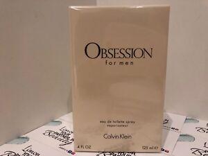Calvin Klein OBSESSION for men Eau De Toilette 125 ml - Genuine- Sealed Box-