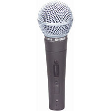 Shure SM58S Vocal Microphone with Switch