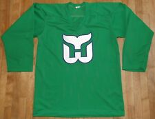 vintage men's HARTFORD WHALERS sewn jersey size SMALL