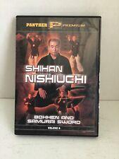 Bohhen And Samurai Sword By Shihan Nishiuchi Dvd