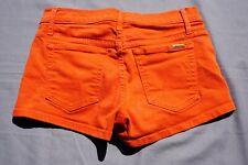 Joe's Jeans Stretch Denim Short Shorts. Orange, Women's Size 26. GUC!!