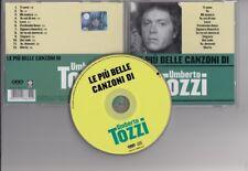 UMBERTO TOZZI Le Piu Belle Canzoni Di 2007 CD ITALY mint  freepostage worldwide