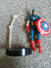 MARVEL Superhero Showdown CAPTAIN AMERICA Figure  Toybiz 3.75