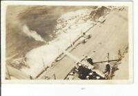 CF-233 US Navy Gun Crew of USS Nevada Battleship Real Photo Postcard RPPC