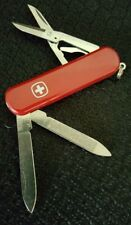 WENGER 16940 Esquire Swiss Army 2-1/2-Inch Kn - RED - with Pouch - NEW AND RARE!