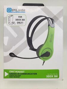 @PLAY Xbox 360 Wired Chat Headset - Green -