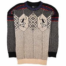 Skjaeveland Herren Pullover Sweater Strick Gr.XXXL Norweger 100% Wolle 89150