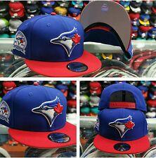 Exclusive New Era MLB Toronto Blue Jays 9Fifty snapback Hat Royal Blue