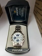 PULSAR Chronograph Men's Watch Pre-Owned