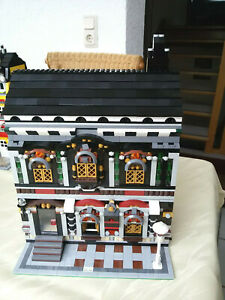 Lego Modular Moc Haus Pfarrerhaus 10182 10224 uws. City Eisenbahn