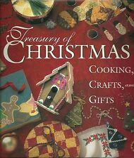 Treasury of Christmas Cooking Crafts and Gifts Hardcover Very Good