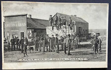 Tulsa Oklahoma Prize Load Of Cotton Postcard c 1915