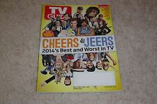 CHEERS & JEERS * BEST AND WORST IN TV Dec 22 2014 2015 TV GUIDE MAGAZINE Tribute
