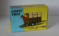 Repro Box Corgi Nr.102 Pony Trailer