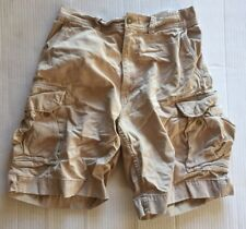 Polo Ralph Lauren Chino Cargo Shorts Size 32 Distressed