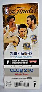 "2016 NBA FINALS TICKET , GAME 7 Lebron James  ""The game saving Block """