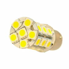 HQRP BA15s LED Bulb for Bargman 30-78-533, Keystone, Casita, Dodge Roadtrek RV