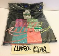 Nike Atmos Tee Long Sleeve PatchWork T-shirt Black XL Extra-Large