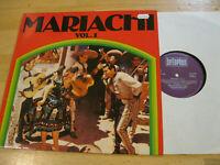 LP Mariachi Vol.1 Mexico Miguel Dias Vinyl Bellaphon 220 07 005