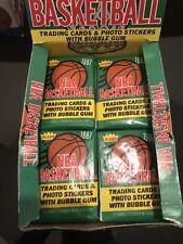 1987-88 Fleer Basketball Wax Pack From Box Barkley Jordan Malone Rc Star Sticker